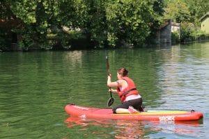 1er essai de Paddle à Grez-sur-Loing