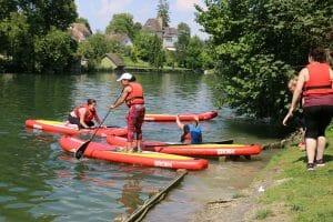 le paddle, un bon moment à partager
