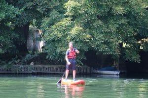 Vous voilà partit à la découvete du Loing en paddle !