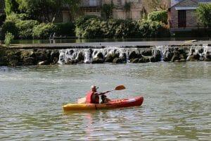 Demi-journée de canoës sur le Loing