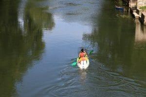 Canoë kayak sur le Loing de Grez sur Loing à Episy