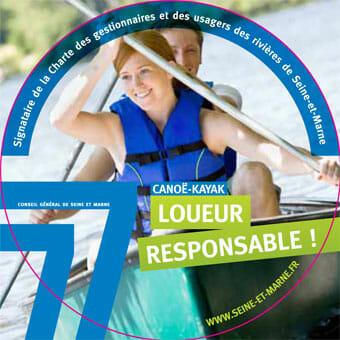 Top Loisirs loueur responsable de canoë/kayak
