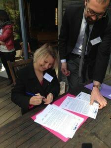 Signataire de la charte Biosphère de Fontainebleau et du Gatinais