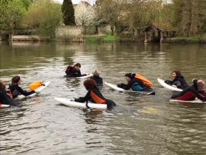 bénévole club nages en eaux vives nemours