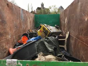 déchets ramassés entre episy et moret