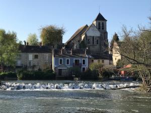 la vanne rouge à Montigny sur Loing