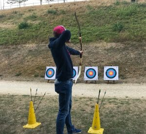 tir à l'arc à Provins 1