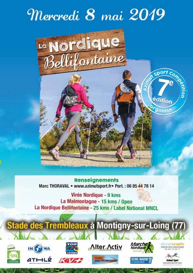 La Nordique Bellifontaine - 8 mai 2019